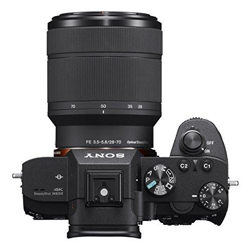 Appareil Photo Hybride Sony Alpha A7 III, Plein Format avec Objectif 28-70 mm + Bon d'achat de 300€ offert