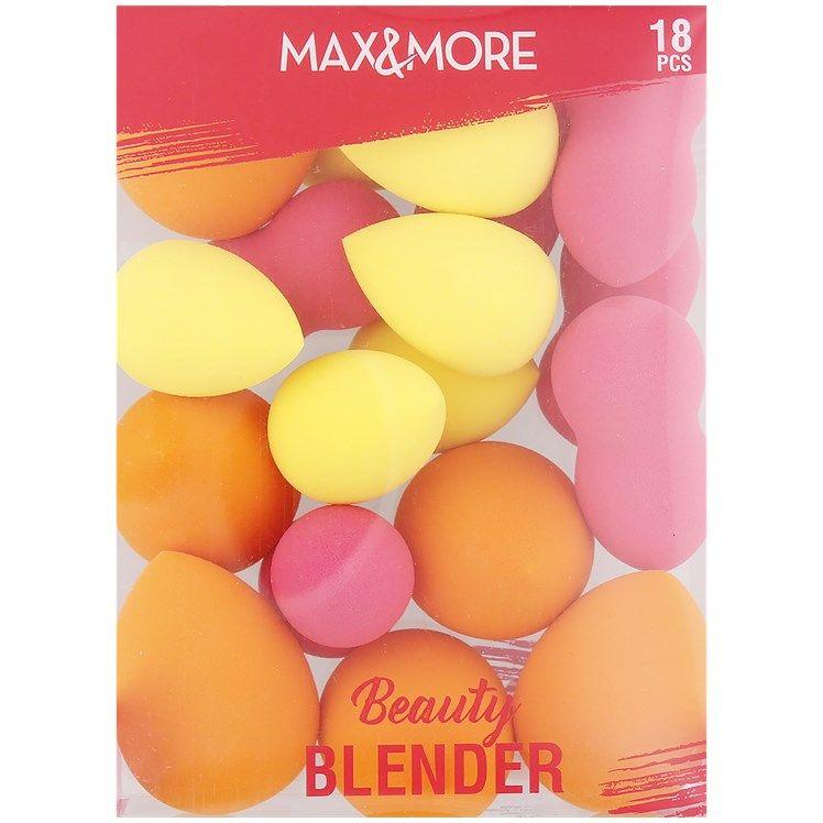 Éponges à maquillage Beauty Blenders Max & More - 18 pièces