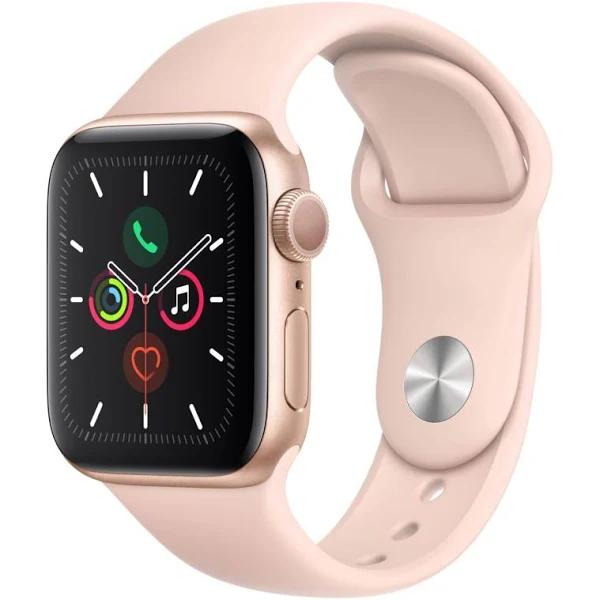 Montre Connectée Apple Watch Series 5 - 40mm, GPS, Boîtier en Aluminium Or