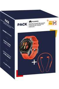 Pack Montre connectée Huawei Watch GT Active + Écouteurs bluetooth Huawei