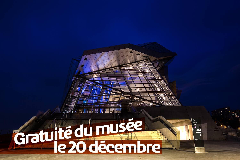 Entrée gratuite au Musée des Confluences à Lyon (au lieu de 9€)