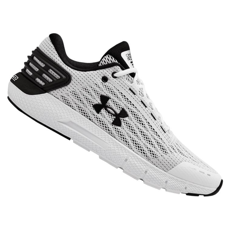 Chaussures de running Under Armour Charged Rogue - Blanc ou noir - Tailles du 40 au 45,5