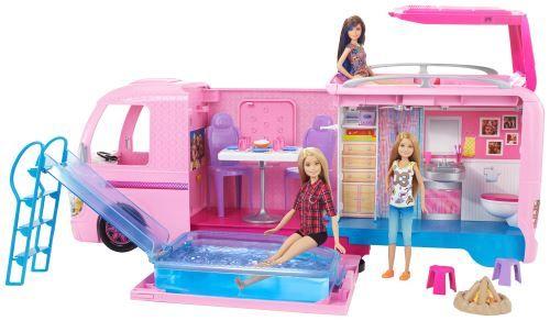 Playset Barbie DreamCamper Camping Car Transformable (Via 15€ sur Carte Fidélité)