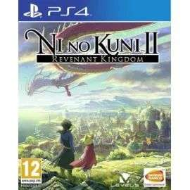 Jeu Ni No Kuni 2: l'avenement d'un nouveau royaume sur PS4 +0.80€ en SuperPoint