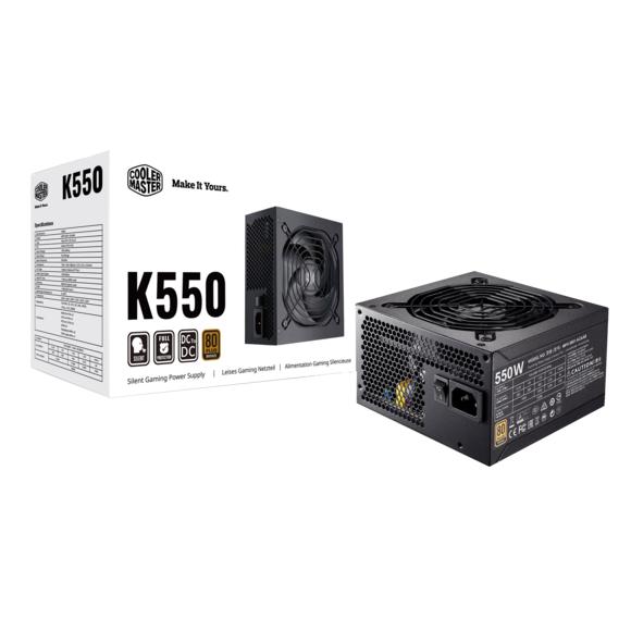 Allimentation PC Cooler Master K550 80+ Bronze - 550W