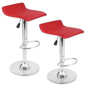 Lot de 2 Tabourets de Bar Langria