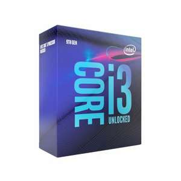 Processeur Intel Core i3-9100F - 3.6 GHz (mode Turbo 4.2 GHz)