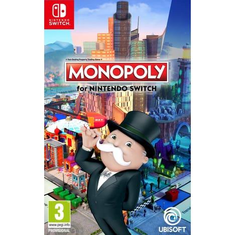Sélection de jeux Nintendo Switch en promo - Ex : Monopoly à 20€, Fifa 19 à 12€, Pixark à 15€