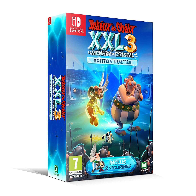 Astérix & Obélix XXL 3 : le Menhir de Cristal Edition Limitée sur Nintendo Switch et PS4
