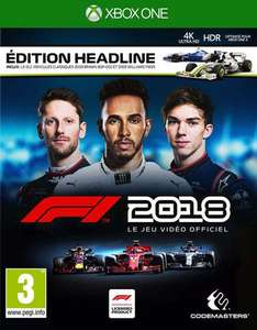 F1 2018 Headline Edition sur Xbox One