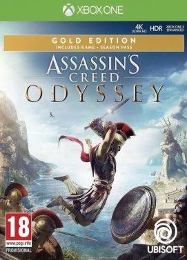 Assassin's Creed Odyssey Gold Edition : Jeu de base + Season Pass + AC 3 & AC Liberation Remastered sur Xbox One (Dématérialisé)