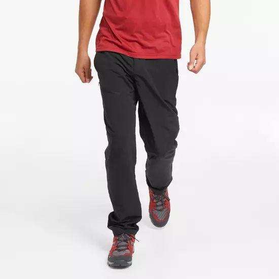 Pantalon de randonnée Quechua MH100 pour homme - Noir (Plusieurs tailles)