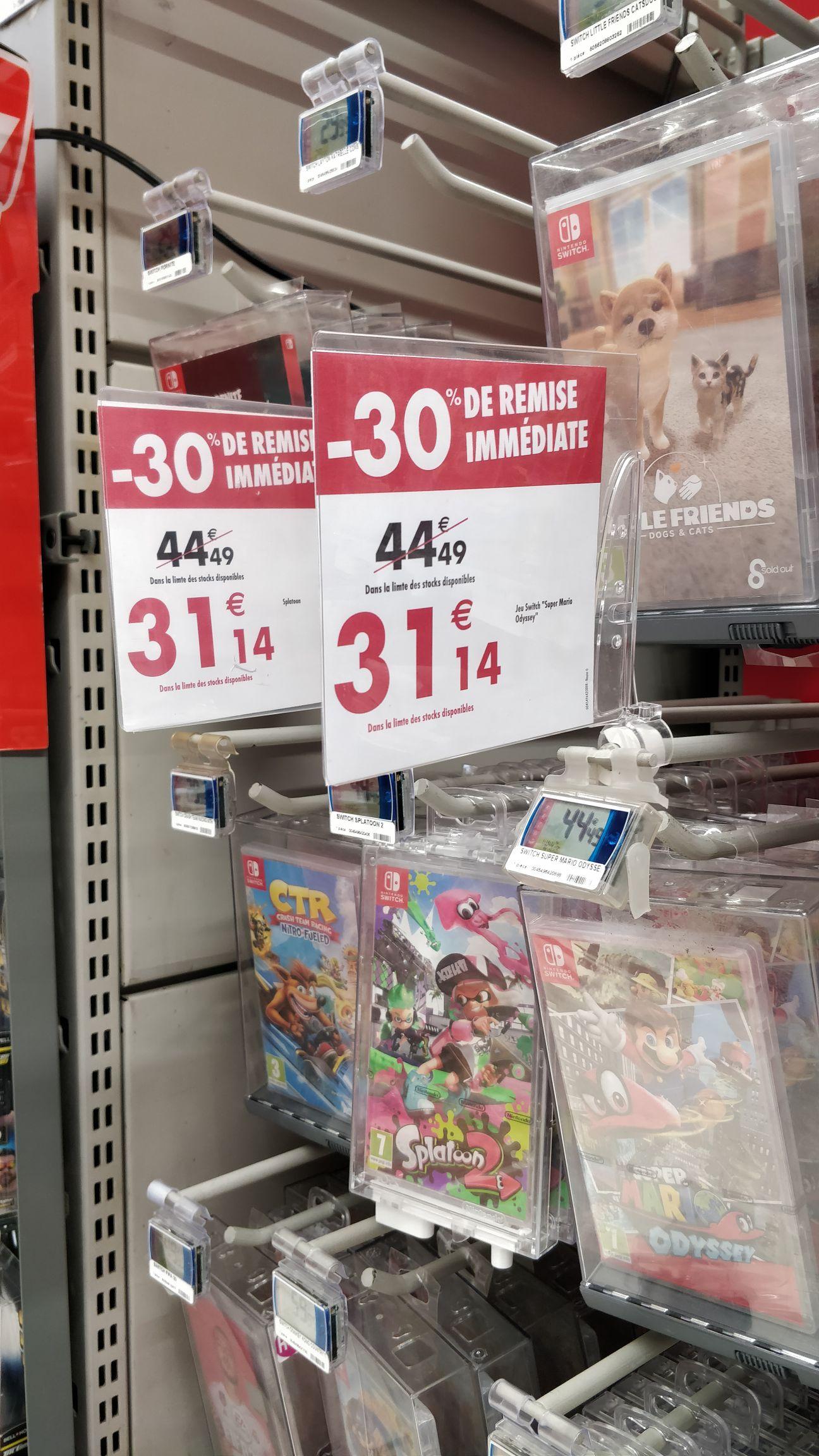 Sélection de jeux Switch - Ex : Super Mario Odyssey sur Nintendo Switch - Portet sur Garonne (31)
