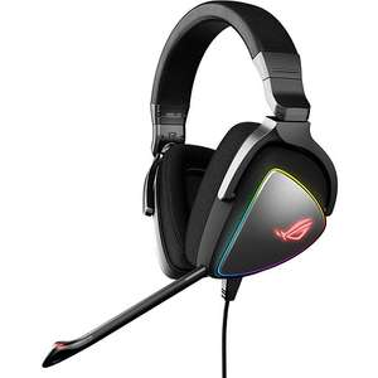 Casque Gaming Asus ROG Delta RGB - DAC ESS 9218, Pour PC, PS4 et Nintendo Switch