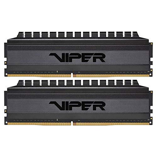 Kit mémoire RAM DDR4 Patriot VIPER 4 BlackOut - 16Go (2 x 8Go), 3600MHz, CL17