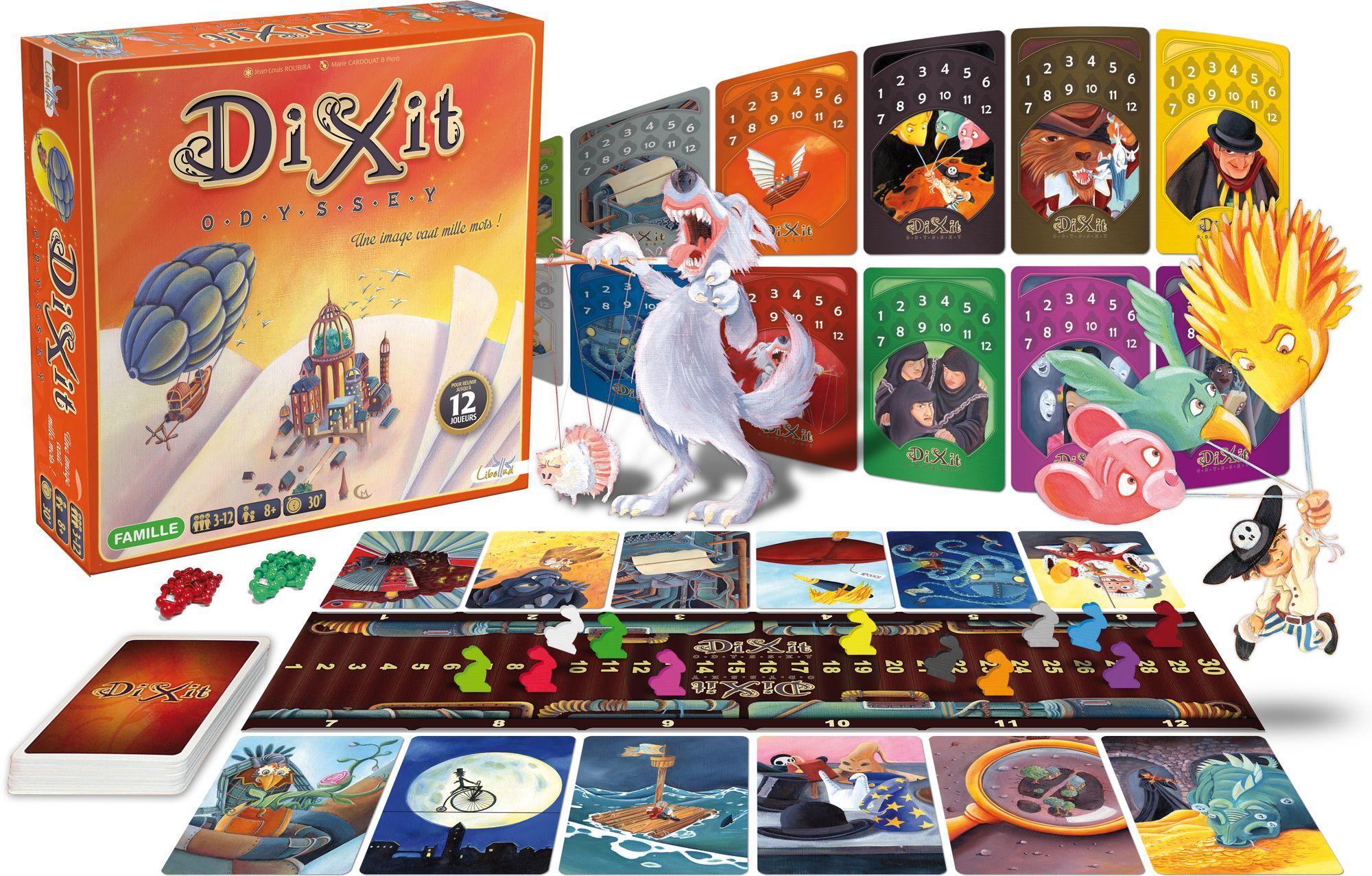 Jeu de Société Dixit Odyssey (Version 12 joueurs)