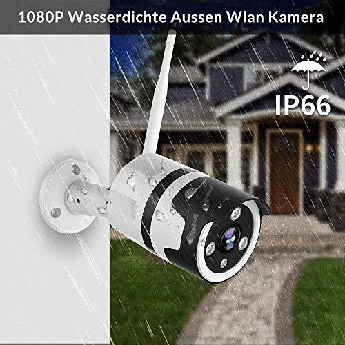 Caméra de Surveillance extérieure Netvue - 1080, WiFi, Compatible Alexa (Vendeur tiers)