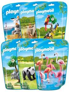 Jouet Playmobil collection Le Zoo - Pack 6 sets d'animaux n°2