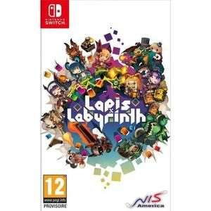 Lapis x Labyrinth XL Limited Edition sur Nintendo Switch