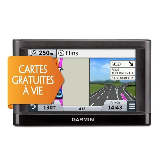 GPS Garmin Nüvi 65 LM SE - Carte (15 Pays) gratuite à vie