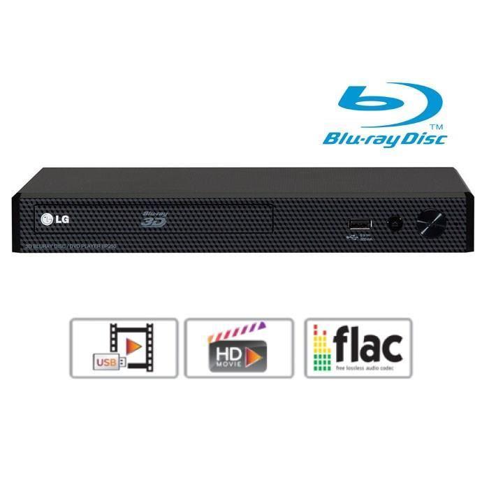 Lecteur Blu-ray Panasonic DMP-BD83 - USB, Wifi