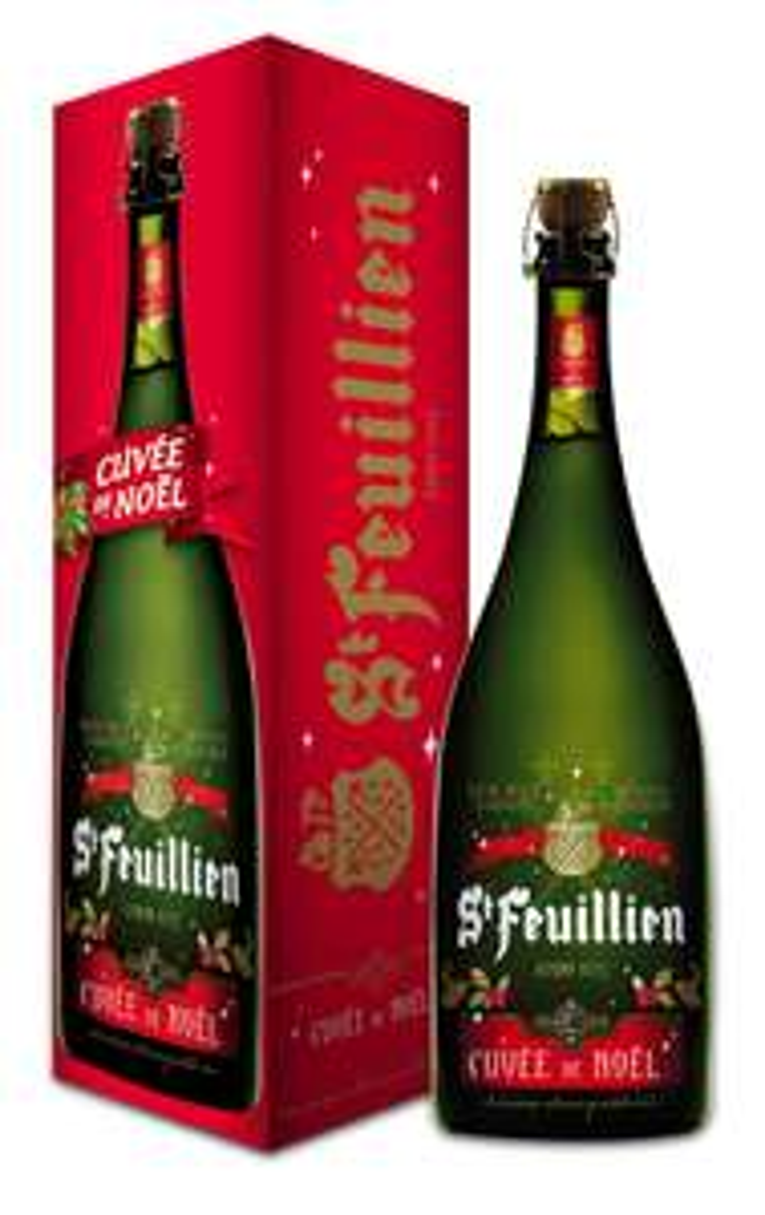 Magnum de Saint-Feuillien de Noël - 1.5 L (Cora Hornu - Frontaliers Belgique)
