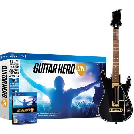 Jeu Guitar Hero Live sur PS4 et Xbox One