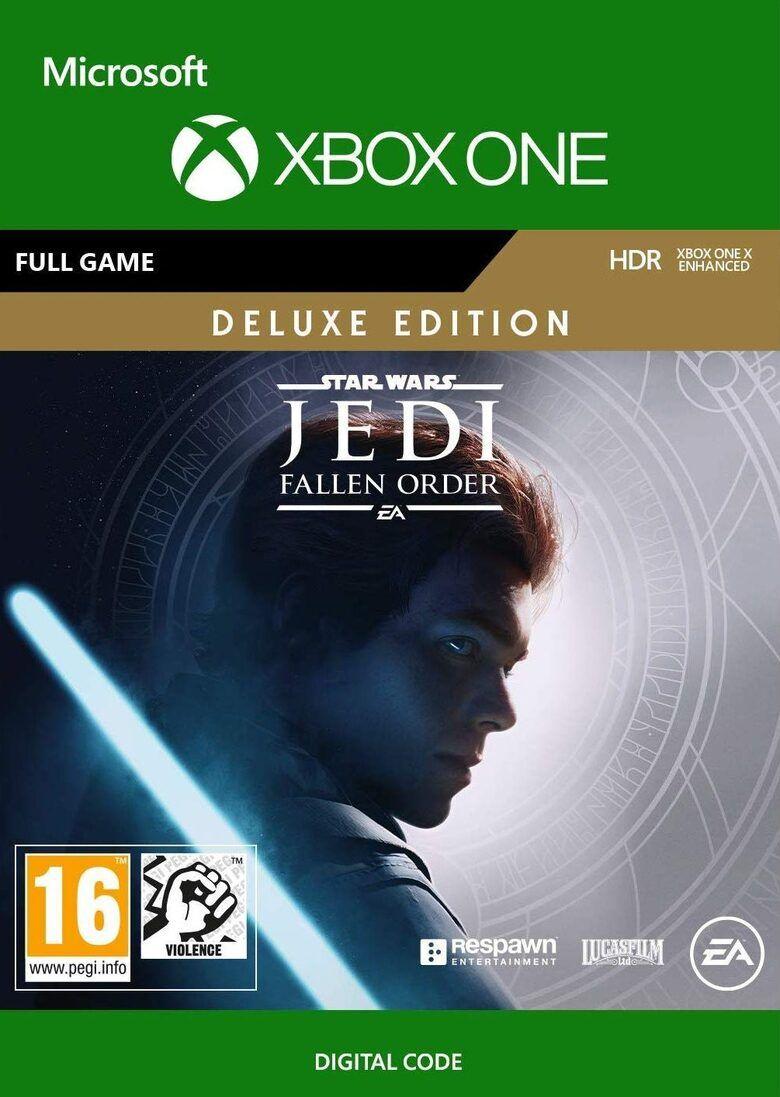 Jeu Star Wars Jedi: Fallen Order - Deluxe edition sur Xbox One (Dématérialisé)
