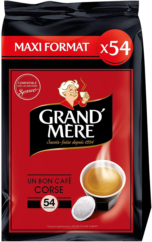 108 Dosettes Souples de Café Grand Mère (Via Carte de Fidélité + BDR)