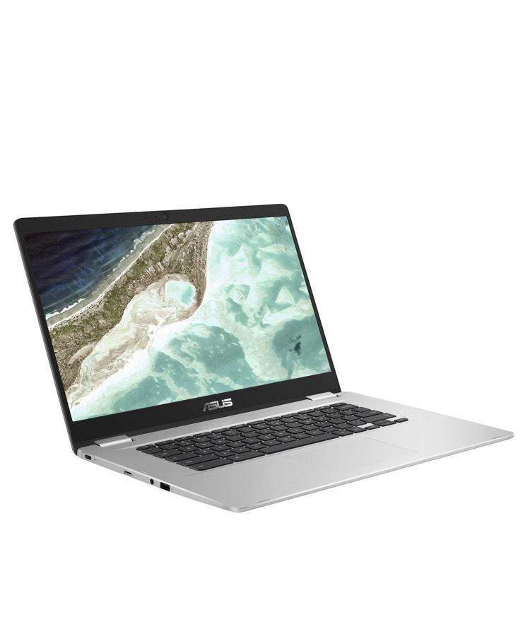 "PC Portable Tactile 15.6"" Asus Chromebook C523NA-A20033 - Full HD, N4200, RAM 8Go, eMMC 64Go"