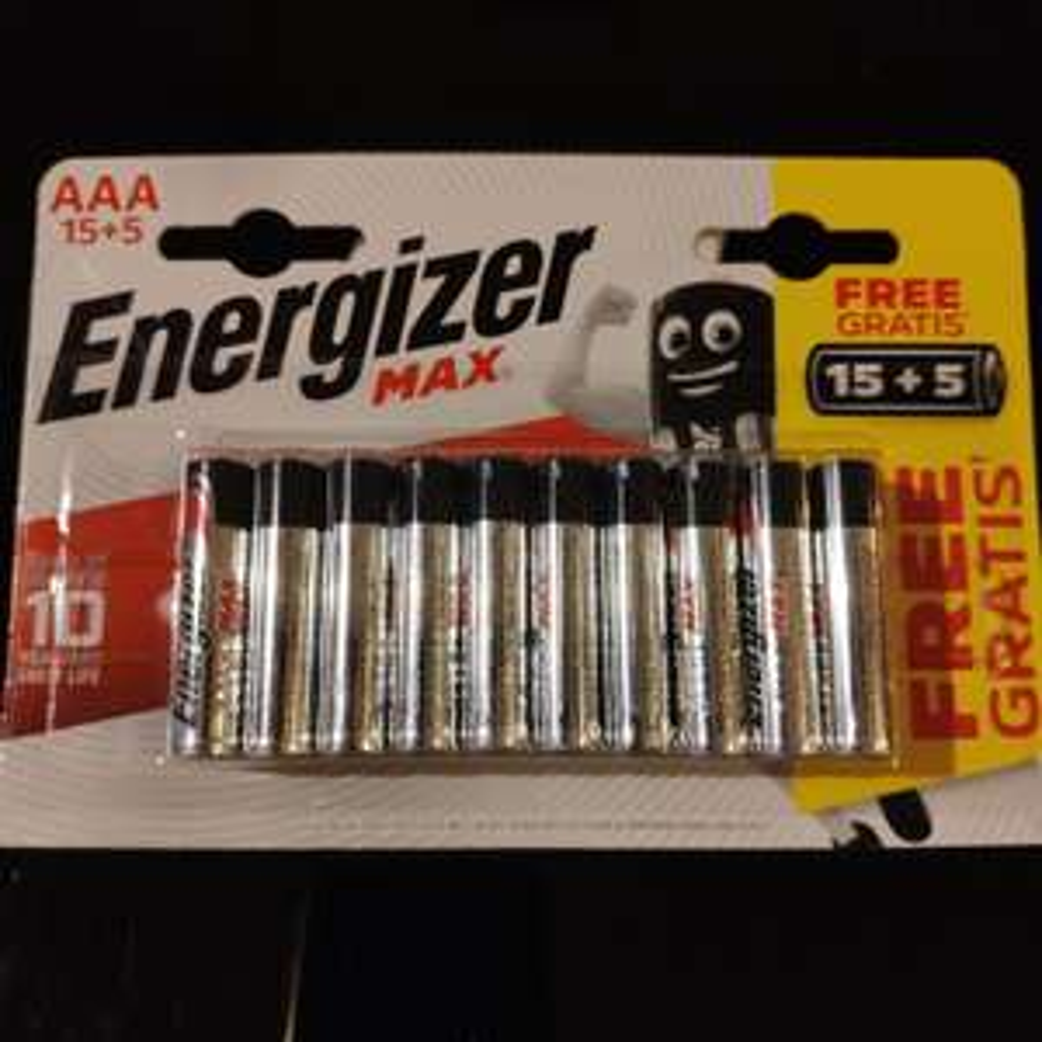 Lot de 20 Piles Max Energizer LR6 ou LR3 - Marsac-sur-l'Isle (24)