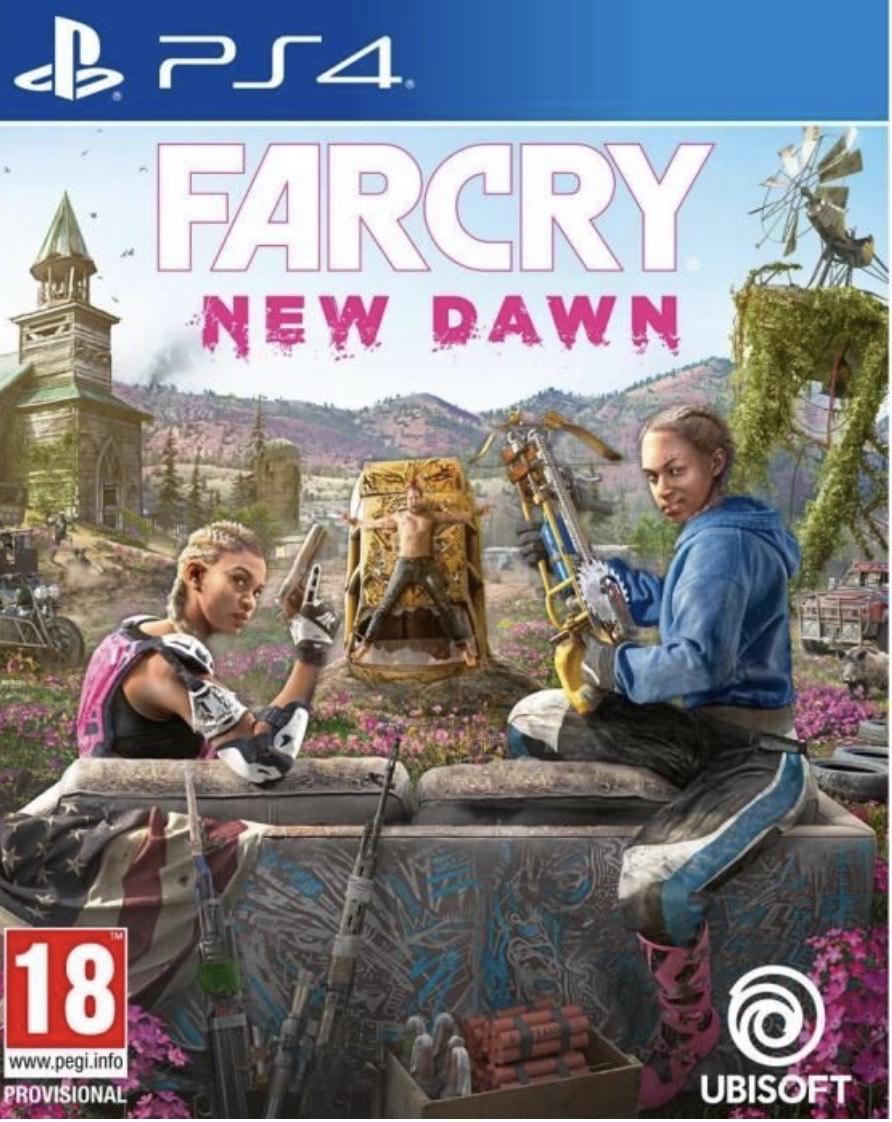 Far Cry New Dawn sur PS4
