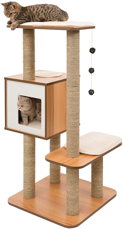 Arbre à chat Vesper - Noyer
