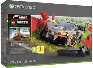 Sélection de Xbox One X (1 To) en promotion - Ex : Xbox One X + Forza Horizon 4 + Lego Speed Champions (Frontaliers Suisse)