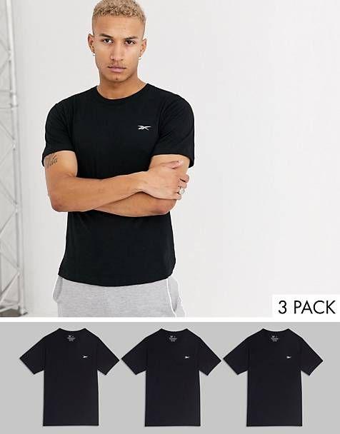 Lot de 3 t-shirts Reebok
