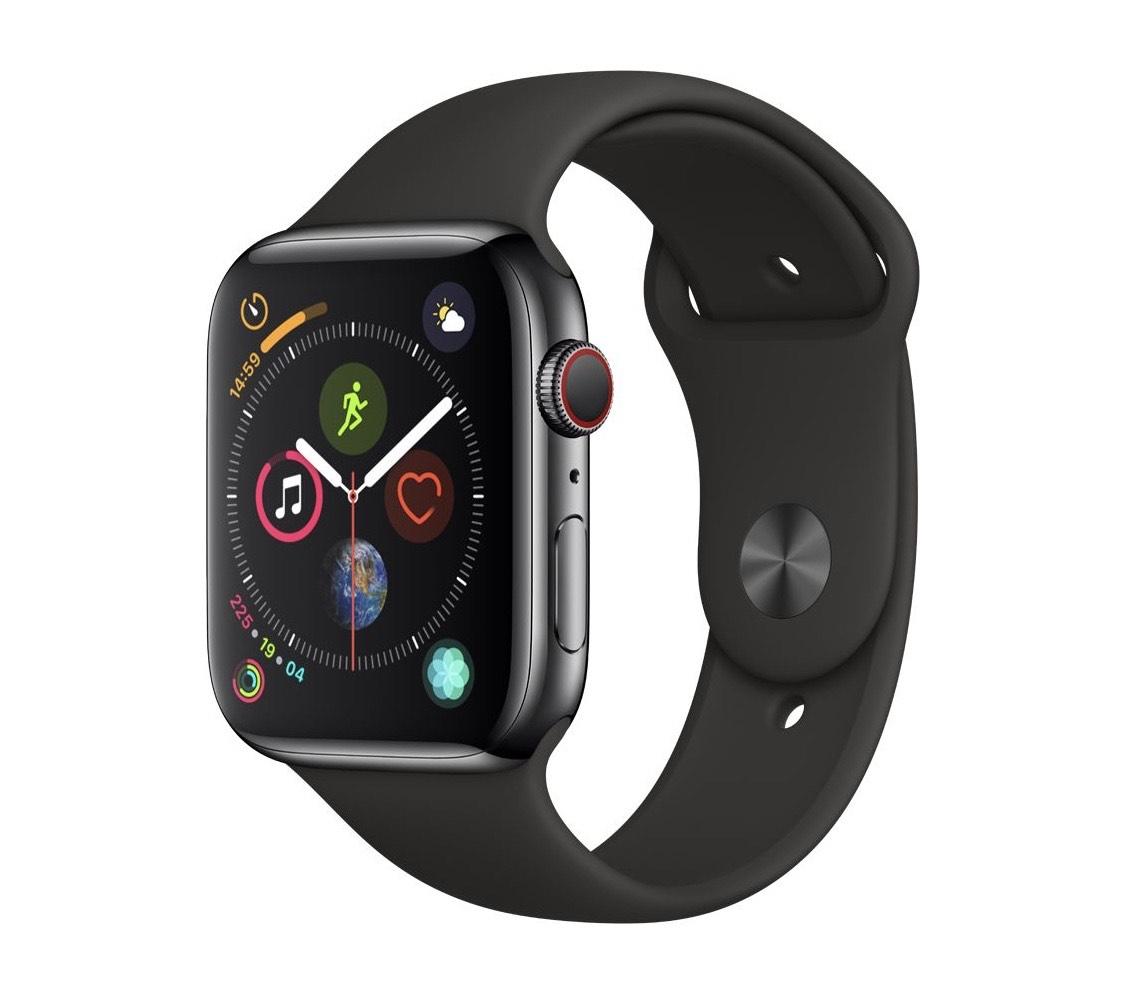 Montre connectée Apple Watch Series 4 (GPS + Cellular) - Aluminium 44 mm, Boucle Sport