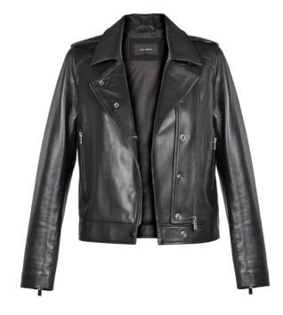 Sélection de vêtements pour femme collection hiver 2015 en promotion - Ex : Blouson en cuir Hyde