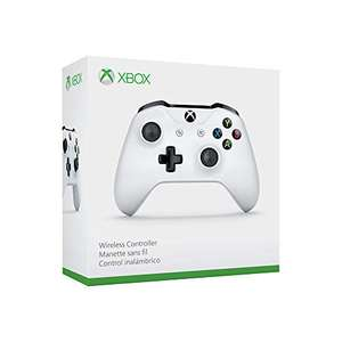Manette Microsoft Xbox One sans fil - Blanc