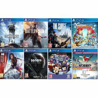 Pack de 8 jeux PS4 (Vendeur tiers)