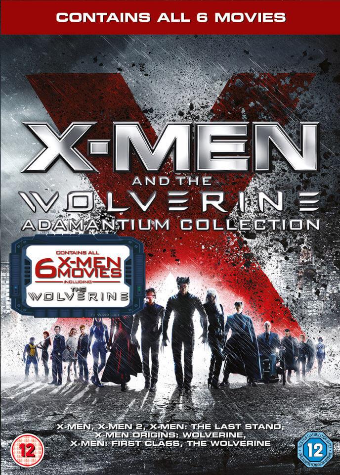 Coffret DVD X-Men and The Wolverine - Adamantium Collection (VO - Anglais Uniquement)
