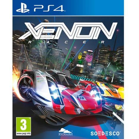 Xenon Racer sur PS4 (via 20.99€ sur la carte)