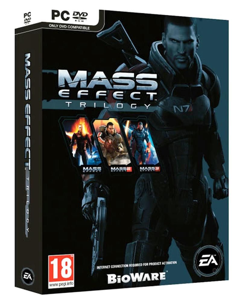 Sélection de jeux-vidéo en promotion - Ex: Mass Effect Trilogy sur PC
