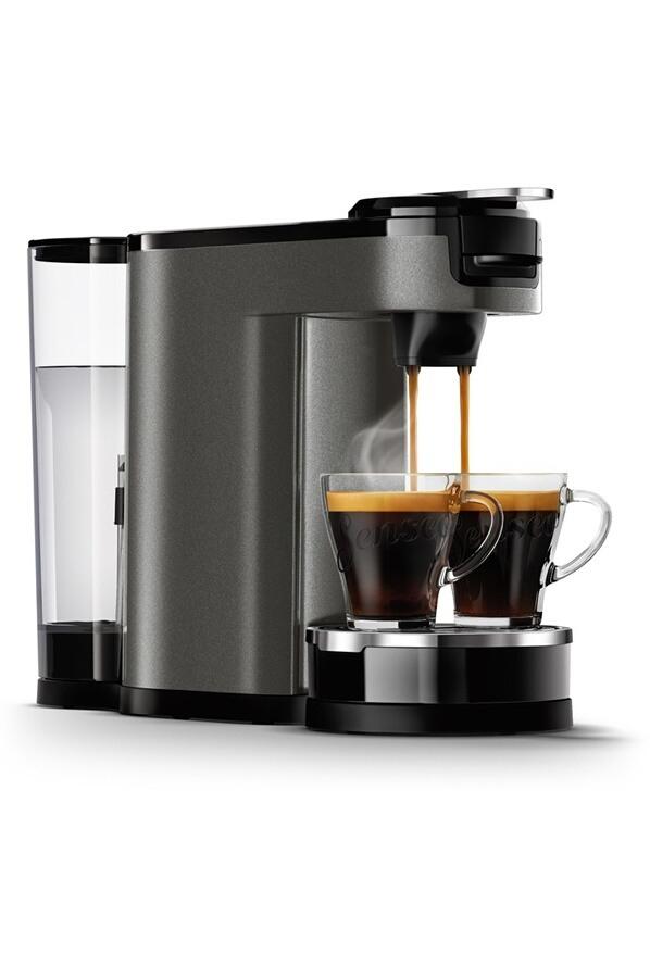 Machine à café à dosettes et filtre Philips Senseo Switch Premium HD6596/51