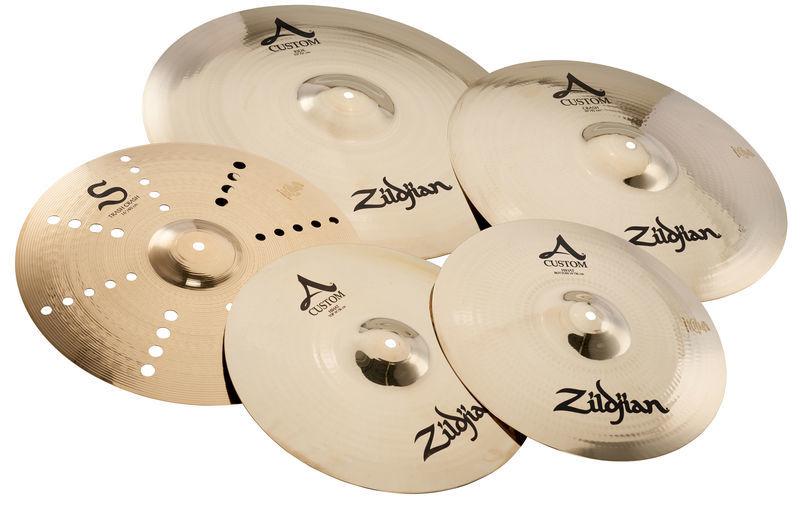 Set de cymbales Zildjian A-Custom (édition limité Thomann)
