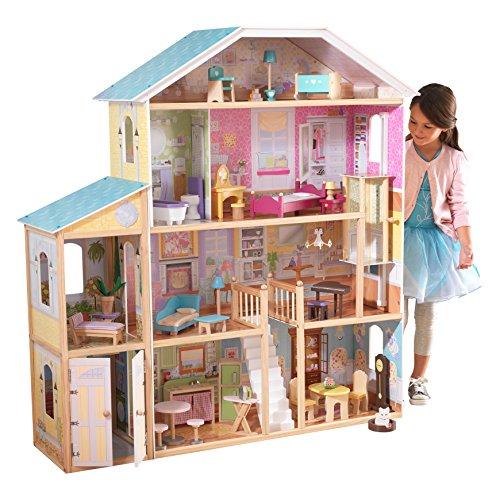 Maison de poupée en bois KidKraft Villa majestueuse (65252) - 136.19 cm
