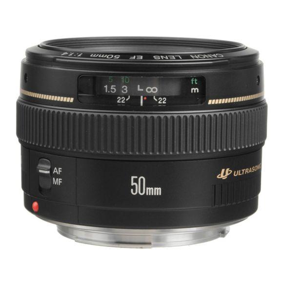 Objectif Canon EF 50 mm f/1,4 USM (Vendeur Tiers)