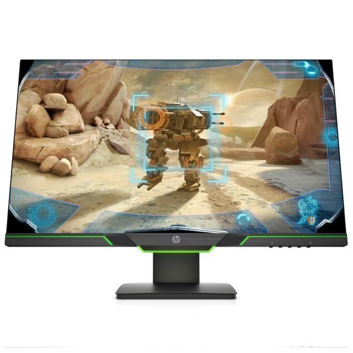 "Écran PC 27"" HP 27xq - WQHD, Dalle TN, 144 Hz, 1 ms, FreeSync (Via ODR de 50€)"