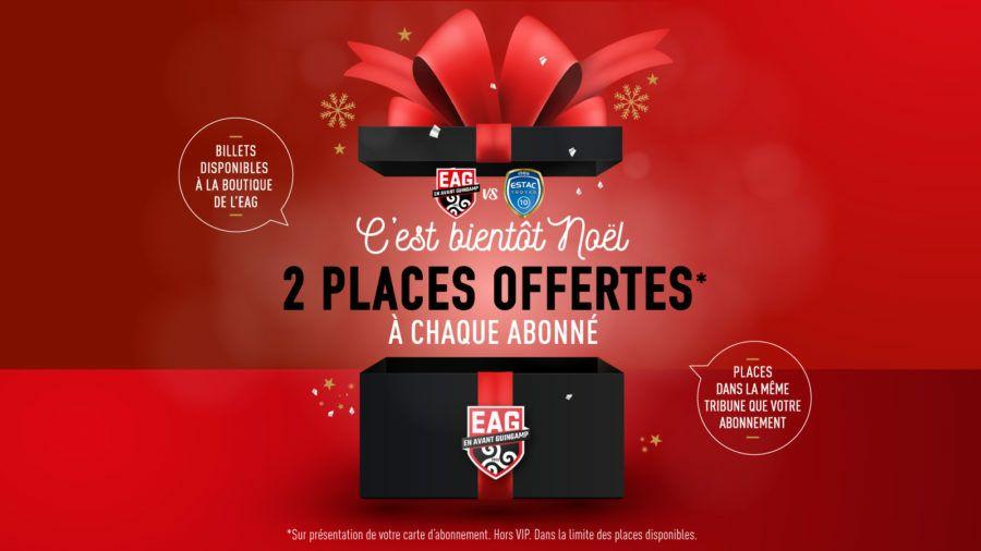 [Abonnés EAG] 2 places offertes pour le match Guingamp-Troyes au Roudourou le 16/12/2019