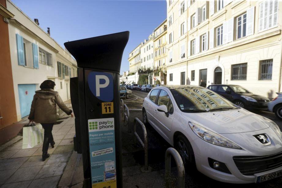Ville de Nice - stationnement sur voirie sera gratuit dans toute la ville les week-ends des 14-15 et 21-22 décembre