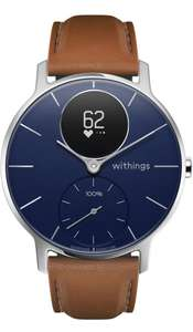 Montre connectée hybride Withings Steel HR Sapphire Signature - 36mm